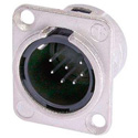 Neutrik NC7MD-L-1 7-Pin XLR Male Panel/Chassis Mount Connector