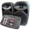 Nady PAS-300BT - Portable Sound System - 150 Watts