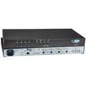 NTI SPLITMUX-DVI-4RT DVI/VGA Quad Screen Multiviewer with Built-In KVM Switch & Real-Time Video