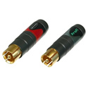 Neutrik NF2C-B/2 RCA Professional Connector (Pair)