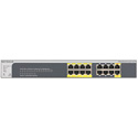 Netgear GS516TP-100NAS ProSAFE 16-Port Gigabit PoE/PD Smart Managed Switch with 16 PoE Ports and 2 PD Ports
