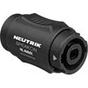 Neutrik NL4MMX Lockable 4 Pole speakON Male to 4 Pole speakON Male Coupler Adapter