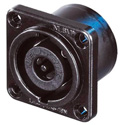 Neutrik NL8MPR-BAG Male Speakon-8 Pole-Solder NLT Style-Black/Nickel