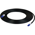 NTW NLED-U6-003BE LED Tracing Category 6 Patch Cord - 3 Foot - Blue