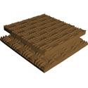Brown Sonex Classic Polyurethane 48 x 48 x 3 Inch Box of 6