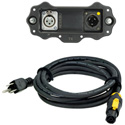 Neutrik NXP-TM-AES XIRIUM PRO Digital Transmitter AES/EBU Input Module w/ NKXPF-5-15-3 powerCON TRUE1 Power Cable