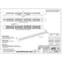 OCC DCC2488/110SIX Rack Mount Patch Panel