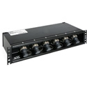 OCC RC2U62LPISP02R62A Broadcast SMPTE 6x2 Splice Enclosure for Stadium Cable with LEMO Plug and 6.35-9.65 Cable Gland