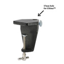 O.C. White 11440-17B Clamp for Mic Arm - Black