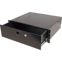 Odyssey ARDP04 4 Space Pro Rack Drawer Accessory With Lock