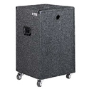 Odyssey CRE 16W Carpeted 16 RU Standard-Duty Amp Rack Case with Wheels