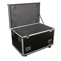 Odyssey FZUT2W-EMPTY Utility Trunk with Casters and Foam Lined Interior