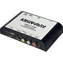 Ocean Matrix OMX-CV-HDMI Analog Composite Video to HDMI Pro Mini Converter / Scaler
