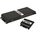 Ocean Matrix OMX-HDMI-HDB1X8 1080p 1x8 HDbitT HDMI Splitter & CAT6 Extender Kit with IR Control 8 Receivers