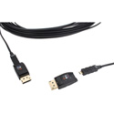 Opticis DPFC-200D-10 DisplayPort 1.2 Active Optical Cable (Detachable) 10 Meter Length