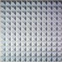 Natural Grey Sonex Pyramids 24 x 24 x 2 Inch Thick Box of 14