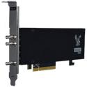 Osprey Video Raptor 1225 2x 12G SDI I/O Genlock Embedded 8 Stereo Audio Pairs Per Channel