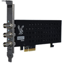 Osprey Video Raptor 935 3x 3G SDI Third Input Programmable as Loopout Embedded 8 Stereo Audio Pairs Per Channel