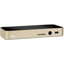 OWC OWCTCDK10PMHGD 10-Port USB-C Dock - 10 ports to Connect Power & Charge your Type C Laptop to iPad Pro - Gold