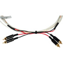 Plenum Dual RCA Male Cables 6 ft.