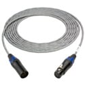 TecNec Plenum 5-Pin XLR-M to Female DMX Lighting Control Cable 25 Foot