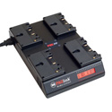 PAG PAGlink PL16plus 4-Position Charger for Gold Mount Batteries