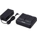 Panasonic AG-BRD50P Pro Grade Dual Battery Charger for AG-BRD50P/AG-VBR118G/AGVBR59P and AG-VBR89G