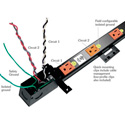 Middle Atlantic PDT-1015C-NS20 10 Outlet PDT Power Strip with 20 Ft. Cord