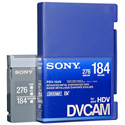 Sony Standard DVCAM Chipless Tape 184 Minute