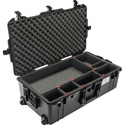 Pelican 1615AirTP Wheeled Check-In Case with TrekPak Kit Included - Black