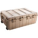 Pelican 1730 Transport Case - with Foam - Wheeled - Desert Tan