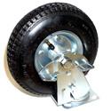 Penn-Elcom 4585PN 8 Inch x 2.5 Inch Wide Wheel Pneumatic Swivel Caster