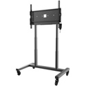 Peerless-AV SR598ML3E SmartMount Motorized Height Adjustable Flat Panel Cart for 42 Inch to 86 Inch Interactive Displays