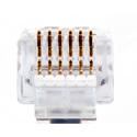 Platinum Tools 100026B EZ-RJ12/11 Connectors 100 Piece Bulk Package