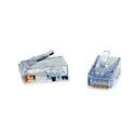 Platinum Tools 105024 ezEX44 10G RJ45 Connectors for .039in to .044in Conductor Sizes - 500 Pack