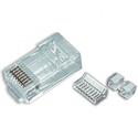 Platinum Tools 106175 RJ45 (8P8C) Cat6 HP Round-Solid 3-Prong 500/Bag