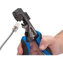 Platinum Tools 13501C Xpress Jack Keystone Jack Termination Tool with Die Set for Platinum Jacks