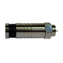 Platinum Tools 18311 F RG11 Compression Connector - Nickel Plated