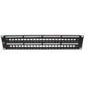 Platinum Tools 643-48U 48 Port Unloaded Patch Panel - 19 Inch Unshielded - 2RU
