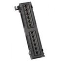Platinum Tools 660-12C6 12 Port Cat6 Non-Shielded Patch Panel
