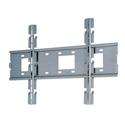 PLAW-6000F Universal Flat Wall Mount - Silver