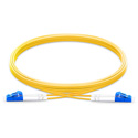 Pliant Technologies PAC-SMF-6LC 9/125 Single Mode Duplex LC to LC Fiber Patch Cable - Yellow - 6 ft. (2 m)