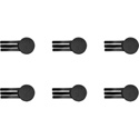 Pliant Technologies PHS-CLIP-6PK Pliant Headset Replacement Magnetic Cable Clips - 6 Pack