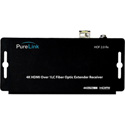 PureLink HOF 2.0 RX HDTools Receiver for 4K HDMI over Fiber Extension System - 1 LC Fiber to RSRS-232