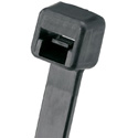 Panduit Pan-Ty 8-Inch Nylon 6.6 18 Lb. Cable Tie - Black - Single Ties