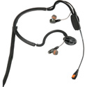 Point Source Audio CM-i5 Dual In-Ear Intercom Headset with Condenser Noise-Cancelling Boom Mic  - 3.5 mm TRRS for iPad