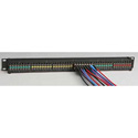 ADC-Commscope PPM1248-1023HP-BK 2RU 2x48 DIN 1.0/2.3 Jack Video Jackfield