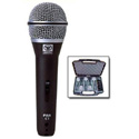 Superlux Handheld Super Cardioid Mic 5pk With On/Off Switch Case And Mic Holders