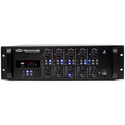 Pure Resonance Audio PRA-RZMA120BT 120 Watt Rack Mount 4 Zone Commercial Mixer Amplifier with Bluetooth