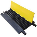 Heavy Duty YJ4-125-Y/B 1.25in Slot 4 Channel Cable Protector- 3ft.